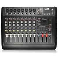 LEORY 110 V-220 V Karaoke KTV Professionelle USB 300W 8 Kanal Power Audio Stereo DJ Mischpult Mixer verstärker