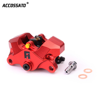 Universal CNC Motorcycle Scooters 85mm Brake Calipers With 2*34mm Piston For BWS GTR125 DL250 Kawasaki Moto Racing Dirt Bike