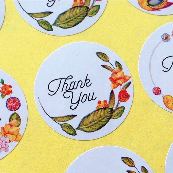 120pcs/lot Thank you Circular Adhesive Baking Seal Sticker students Gift Label Stickers For Party Favor Gift Bag Candy Box Deco120pcs/lot Thank you Circular Adhesive Baking Seal Sticker students Gift Label Stickers For Party Favor Gift Bag Candy Box Deco