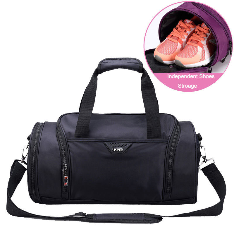Men Gym Bags For Training Fitness Waterproof Women Outdoor Sports Yoga Bag Travel Luggage With independent
