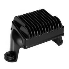 Высокое качество алюминиевый сплав Черный мотоцикл регулятор напряжения Выпрямитель 74505-09 74505-09A