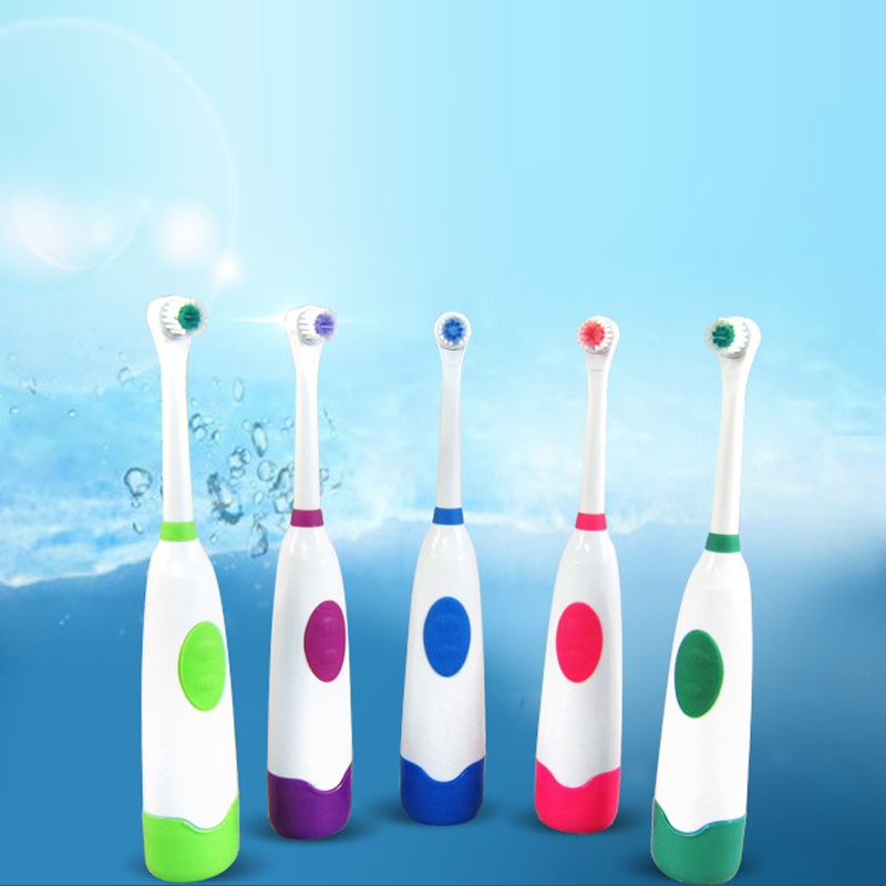 Children Toothbrush Kids Electric Teeth Brush Tooth Brushes Dental Oral Tooth Brush For Children Toothbrushes 2pcs Brush Heads image