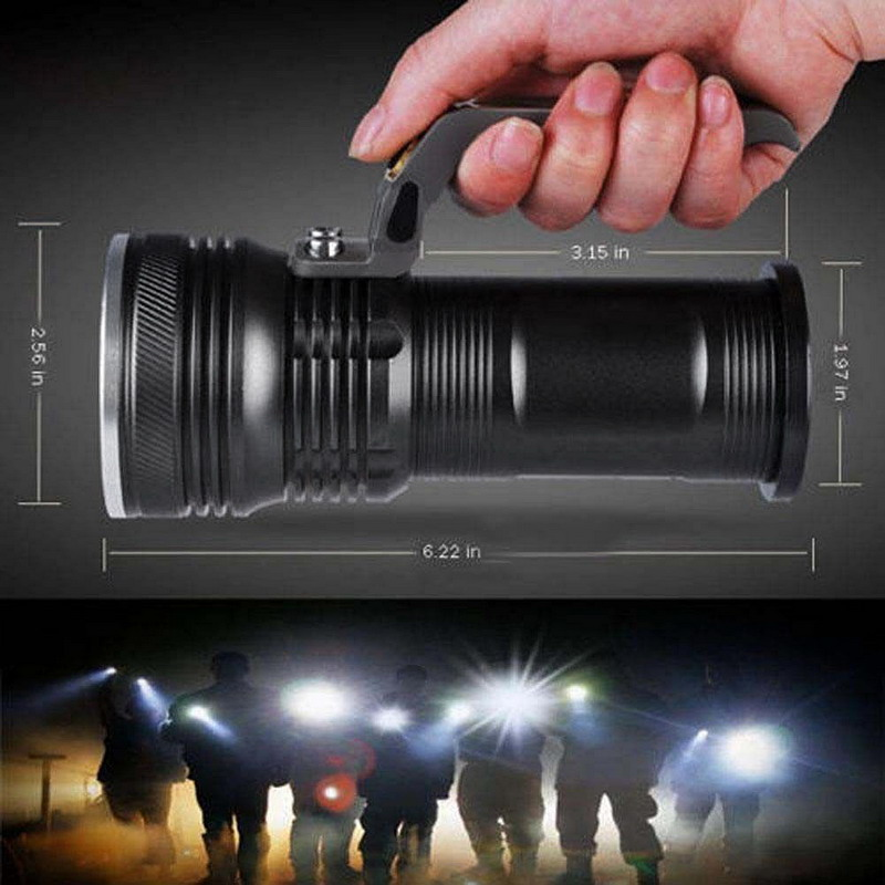 1 PC Outdoor Camping Fishing Flashlight  XM-L 3000LM 3-mode Police Tactical LED Flashlight Torch Handheld Lamp VEM51 P50 браслеты police pj 26055blb 01 l