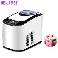 BEIJAMEI 1.5L Home automatic mini ice cream machine price household intelligent ice cream maker machine for sale
