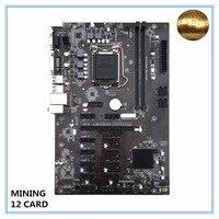 Mining Motherboard B250 BTC Mainboard LGA1151 CPU DDR4 Memory 12 Card USB3.0 Expansion Desktop Motherboard