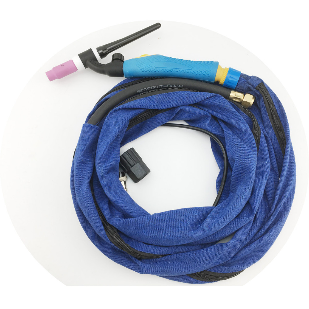 2018 New TIG Torch Flex Gas Valve WP 17FV 4M 12 5Feet Welding Cable Hose Jeans
