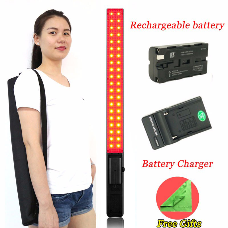 in Stock YONGNUO YN360 Handheld LED Video Light 3200k 5500k RGB Colorful 39 5CM ICE Stick