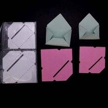 Diy тиснение из углеродной стали нож штамповочный конверт шаблон металлические режущие штампы для Diy скрапбукинга тиснение изготовление бумажных открыток