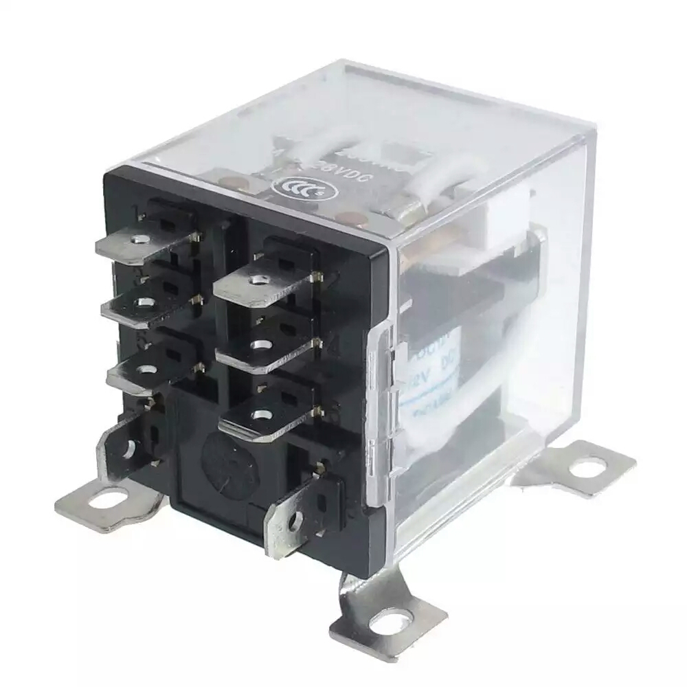JQX-12F 2Z DC 12V 30A DPDT General Purpose Power Relay 8 Pin/xj