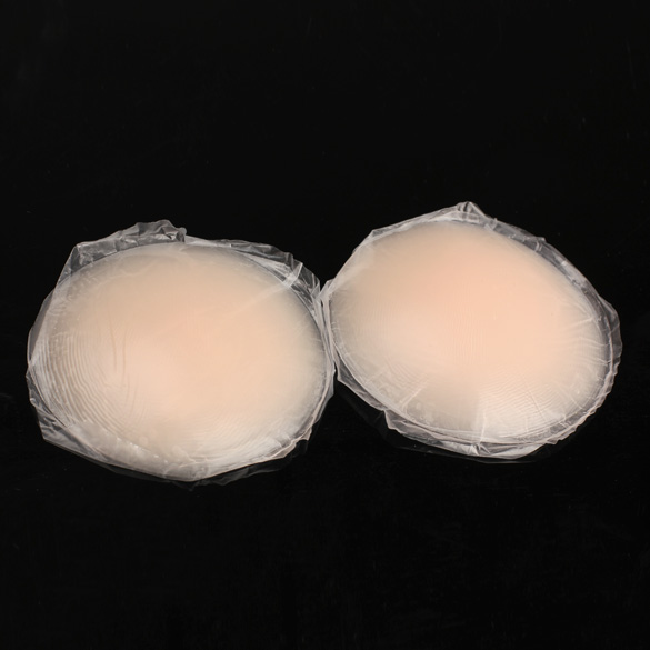 Round Shape Silicone Nipple Tape Nipple Cover Bra Pad Patch Breast Shaper
