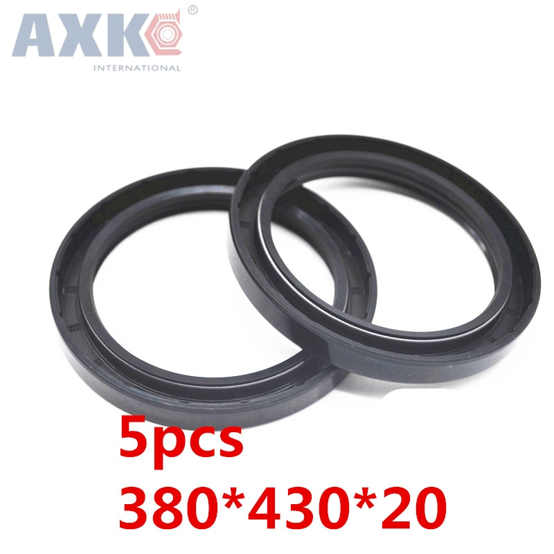 AXK 5pcs TC380x430x20 Skeleton Oil Seal 380*430*20 Seals high-quality Seals Radial shaft seals