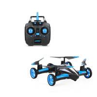 Yeni Sıcak JJRC H23 2.4G 4CH 6 Eksen 3D Çevirir Uçan Araba Tek anahtar Dönüş Açık Oyuncaklar Mini Drone RC Quadcopter RTF RC Oyuncaklar Için çocuklar