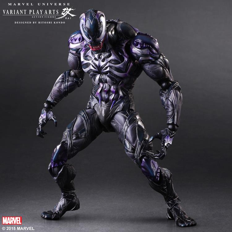 SQUARE ENIX Play Arts KAI Spiderman Venom Marvel Universe Variant Action Figure Collection Toy 26cm MVFG347 1pc pack k795 aluminum pipe out diameter 8mm inner diameter 5mm hollow circular tube for diy model making free shipping russia