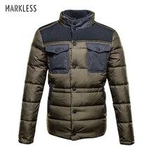 Markless 90% White Duck Down Jacket Men 2018 Winter Winter Down Jackets Men Thick Warm Hooded Downs & Parkas doudoune homme