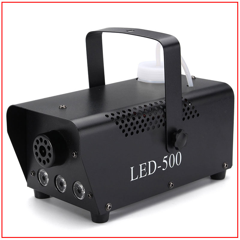 fast shipping disco colorful smoke machine mini LED remote fogger ejector dj Christmas party stage light fog car (16)