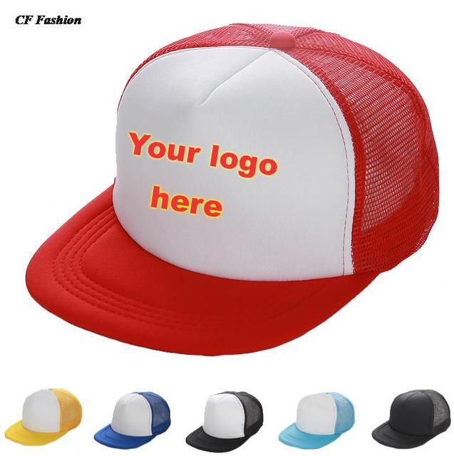 C   FUNG rápida logotipo personalizado ala plana gorras de béisbol adulto  gorra de camionero malla f125a1dee80