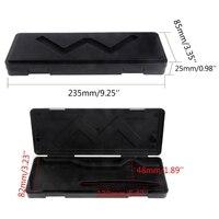 Caixa de armazenamento caso para 0-150mm digital eletrônico inoxidável vernier pinça ferramenta novo