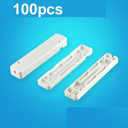 100pcs Fiber Optic Fusion Protection Square Box for Drop Cable Optic Fiber Fused