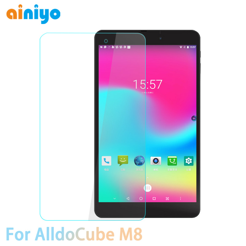 9H Tempered Glass For Alldocube M8 8.0 Inch Tablet Screen Protector Film For Alldocube Iplay8 Pro Iplay 8 Pro