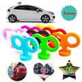 Funny 3D Clockwork Styling Car Roof Rabbit Ear Cartoon Creative Accessories Tail EVA 3M Sticker Universal For MINI Etc All Cars