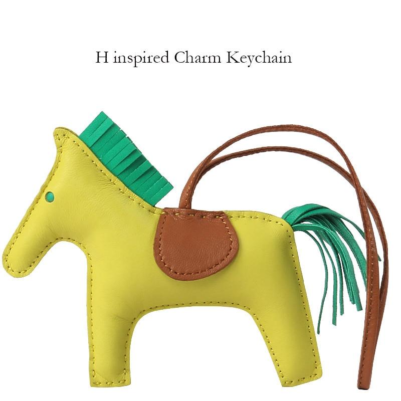 Popular lambskin Rodeo Horse Designer Bag Charms Petit Pony Purse Pendant Rodeo Bag Charm Ornament Wholesale dropship 13*10CM katalog rodeo