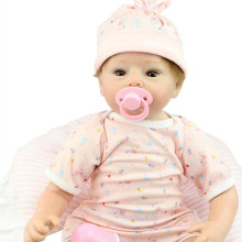 50-55cm Real Looking Cheap Reborn Babies For sale Silicone Lifelike Reborn Baby Dolls For Kids Growth Partners Birth Reborn Doll
