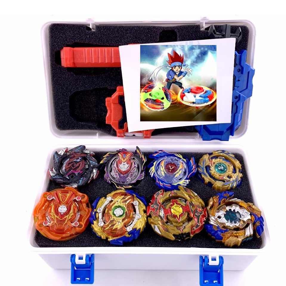 Набор топов пусковые устройства Beyblade игрушки со стартером и ареной Bayblade Металл Бог взрыв волчок Bey Blade лезвия игрушки