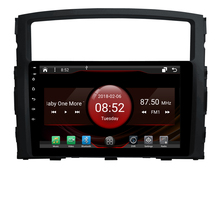 2GB RAM octa core Android 7.1.2 car GPS for MITSUBISHI Pajero 2009 touch screen car radio stereo navigation 3G mirror link DVR