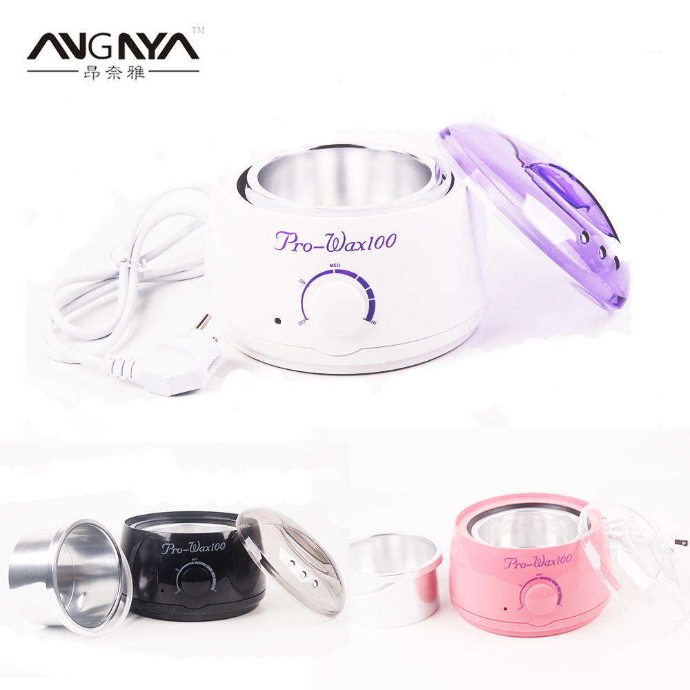 3 Colors Warmer Wax Heater Pot Hair Remover Mini Salon Spa Paraffin Wax Machine Temperature Control Depilatory
