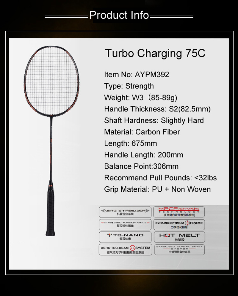Li-Ning Turbo Charging 75C