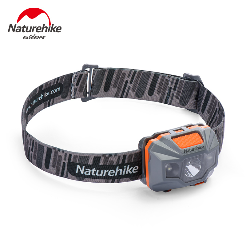Naturehike Cycling Waterproof Headlamp USB Chargable Camping Headlight Outdoor Fishing  LED Front Light NH00T002-D high quality 2 mode power 5w led headlight 48000lx outdoor fishing headlamp rechargeable hunting cap light