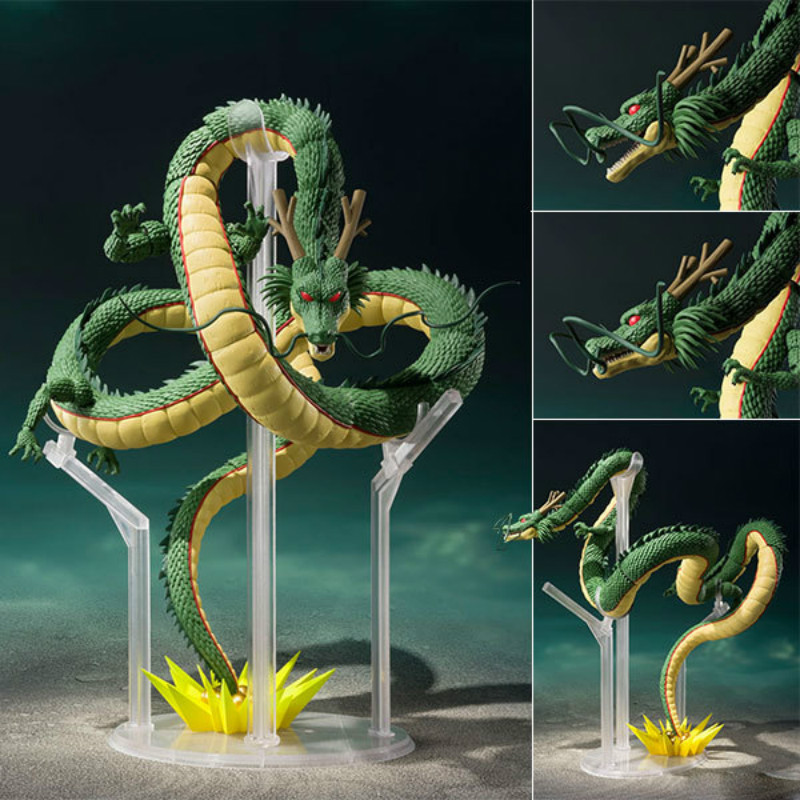 28cm Dragon Ball Z Shenlong SHF Super Saiyan PVC Action Figure Japanese Anime Super Shenron Collectible Model Toys Garage kit