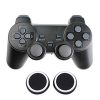 New 2 4GHz Wireless Double Shock Vibrative Game Controller Gamepad Joystick For PS3 PS2 PS PC