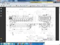 MTU 시리즈 4000 엔진 Tranning