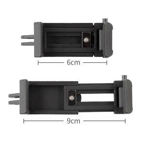 Image 5 - 휴대 전화 클립 마운트 브래킷 클램프 삼각대 어댑터 이동 프로 아이폰 xiaomi 화웨이 selfie 스틱 monopod 막대 홀더 액세서리
