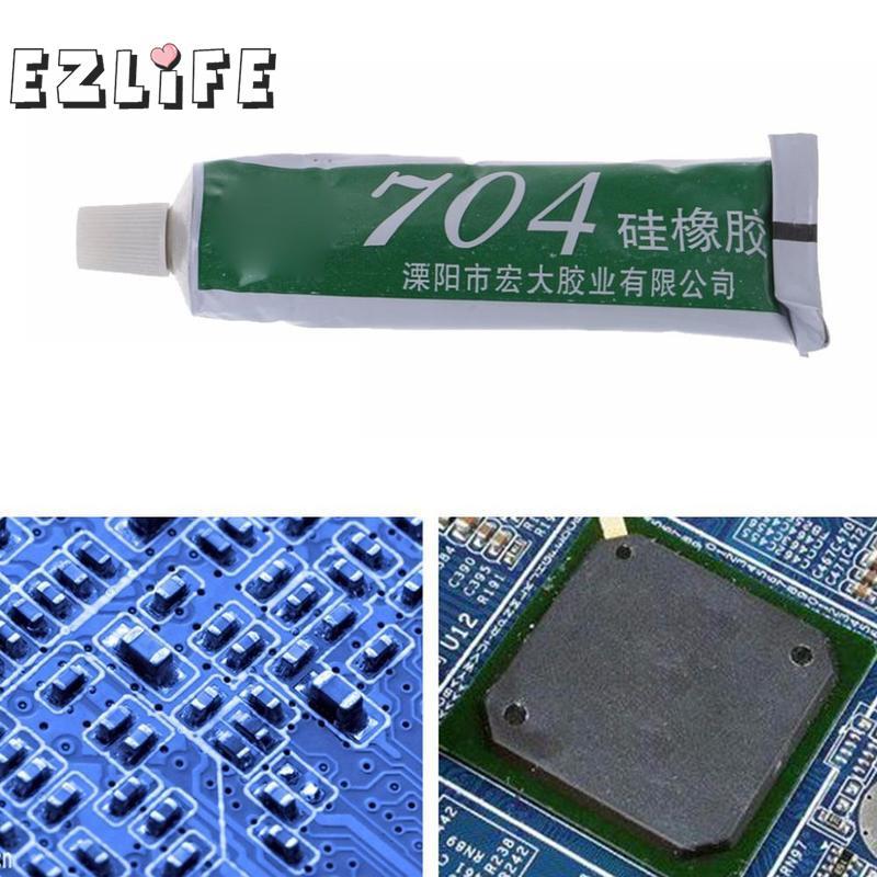 704 Fest High Temperatur Beständig Silikon Gummi Dicht Kleber Wasserdicht Weiß