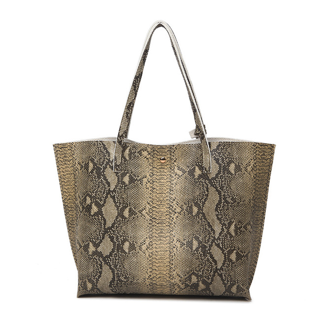 Ankareeda Luxury Brand Serpentine Women's Soft Leather Handbag High Quality Women Shoulder Bag Fashion Tassel Women's Handbags 1