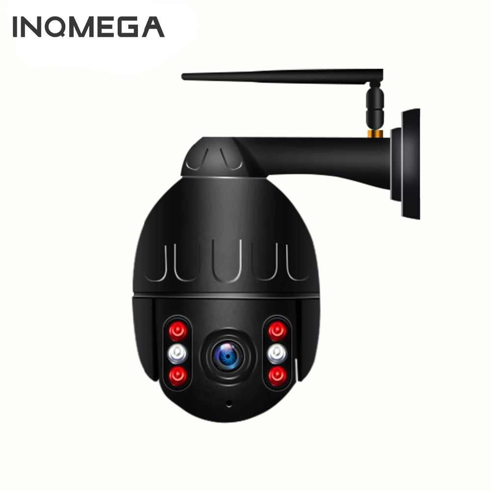 INQMEGA 1080P IP Camera Wireless Security Dome WIFI PTZ Mini Speed Cam Outdoor Onvif Surveillance Wifi Camera Audio Record CCTV