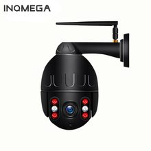 INQMEGA 1080P IP Camera Wireless Security Dome WIFI PTZ Mini Speed Cam Outdoor Onvif Surveillance Wifi Camera Audio Record CCTV(China)