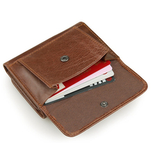 100% Real Leather Wallet For Men
