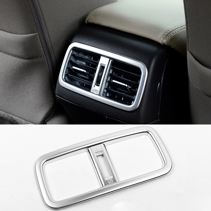 2016 car styling rear outlet sequins dedicated interior chrome trim cover for honda crv 2013. Black Bedroom Furniture Sets. Home Design Ideas
