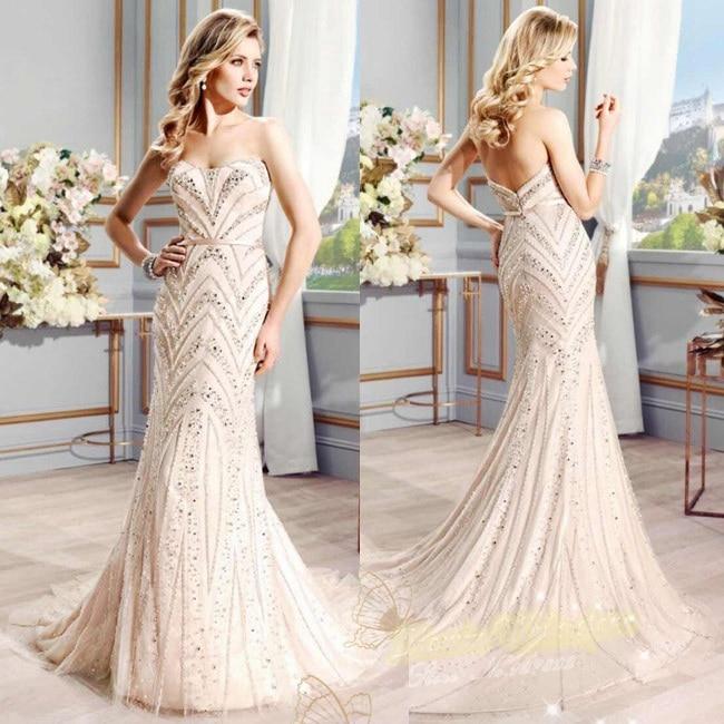 Aliexpress.com : Buy Vestidos De Noiva Sereia Elegant Mermaid ...