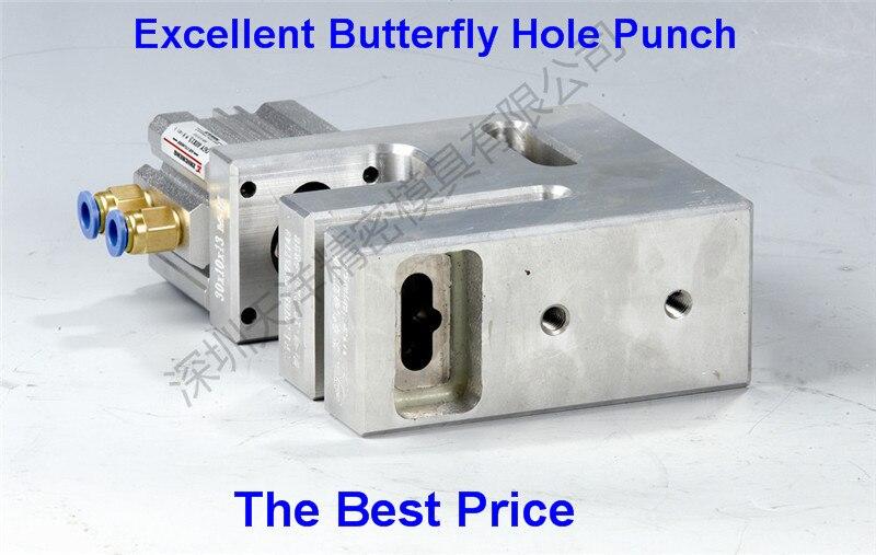 Menü Einfach Elektrische Papier Locher Maschine Papier Bindung Maschine Einzigen Loch Bohren Für Tags Empfang