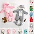 Новорожденных infantil детская одежда дети baby boy одежда проложенный зима roupas bebes сгустите теплый хлопок девочка комбинезон