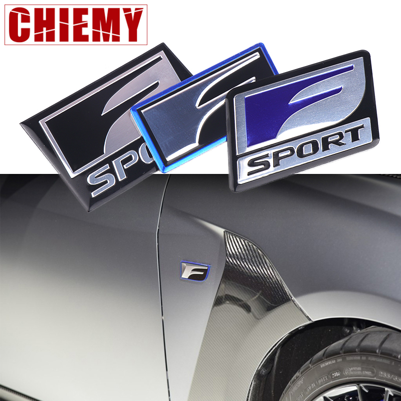 3D Car Sticker Badge Emblem Decal For <font><b>Lexus</b></font> F SPORT IS ISF GS RX RX300 <font><b>RX350</b></font> ES IS250 ES350 LX570 CT200 Styling Accessories image