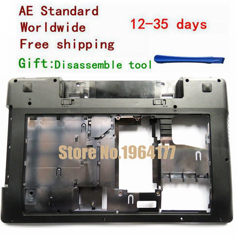 New Case Cover For Lenovo Z580 Laptop Series bottom case Z585 Base Bottom Laptop Replace Cover case cover for lenovo ideapad yoga 2 pro 13 13 base bottom cover laptop replace cover am0s9000200