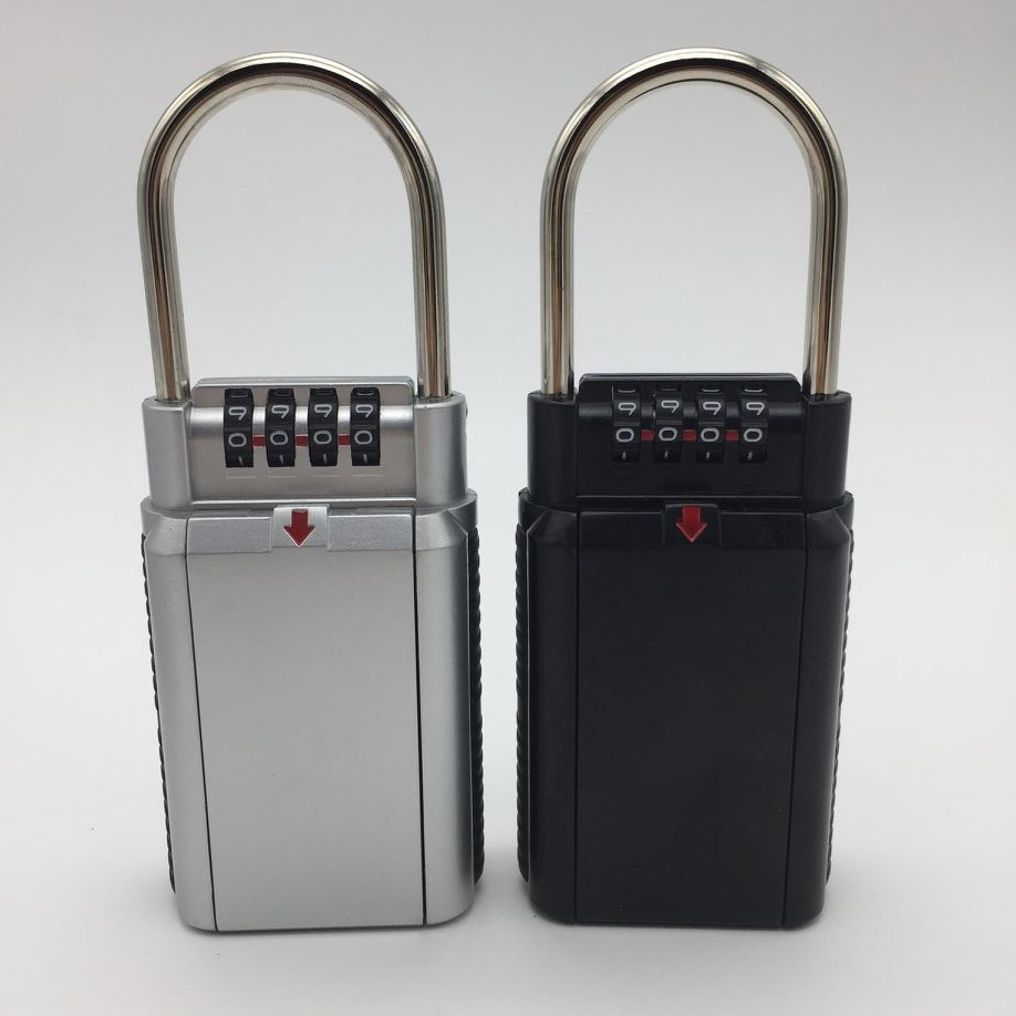 4 Digit Combination Password Lock Zinc Alloy Security Lock Suitcase Luggage Coded Lock Cupboard Cabinet Locker Padlock