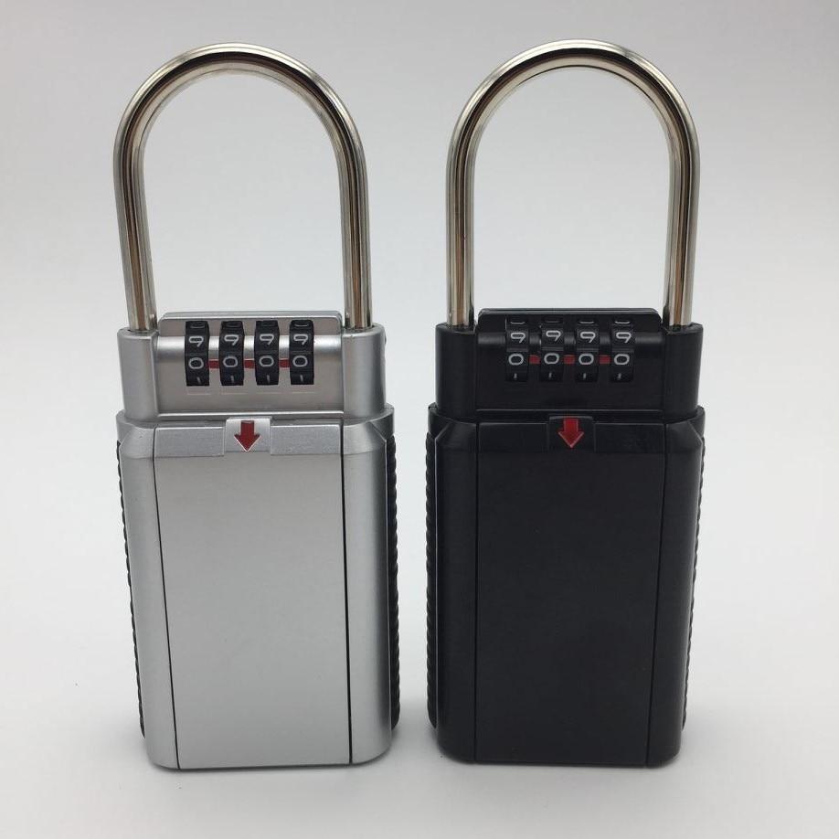 4 Digit Combination Password Lock Zinc Alloy Security Lock Suitcase Luggage Coded Lock Cupboard Cabinet Locker Padlock