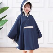 Raincoat School-Bag Poncho Outerwear Hooded Baby Waterproof Kids Children's Kindergarten