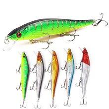 цена Dropshipping Fishing Lure 23g/14cm Sinking Minnow Wobbler Hard Lure Bass Pike peche isca artificial Bait Tackle Plastic 3D Eyes онлайн в 2017 году